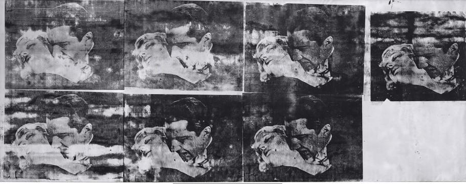Andy Warhol, De Kus (Bela Lugosi), 1963, Museum Boijmans Van Beuningen, Rotterdam.