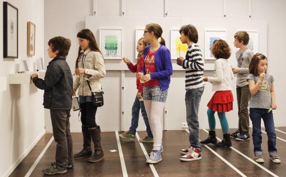 Opening kunst4kids 2014. Foto: Fred Ernst