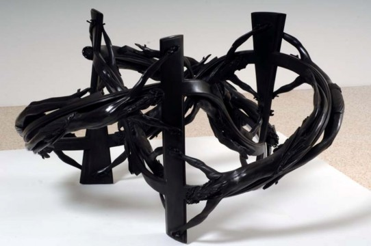 Wim Delvoye, Pretzel, 2006, Private Collection, foto: Andy Keate