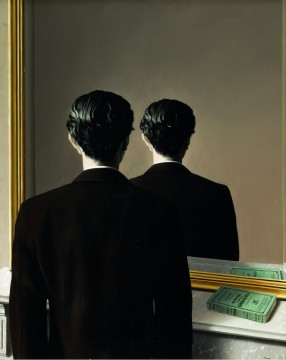 René Magritte, La reproduction interdite, 1937. Museum Boijmans Van Beuningen, Rotterdam, fotograaf: Studio Tromp, Rotterdam. ©Pictoright Amsterdam 2017