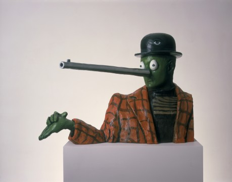 Gavin Turk, Oscar, 1999, Copyright the Artist. Courtesy Ben Brown Fine Arts, London, foto: Andy Keate