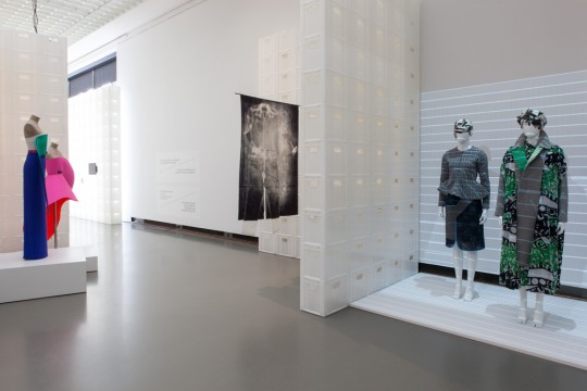 Exhibition overview 'The Future of Fashion is Now' Photo: Lotte Stekenburg
