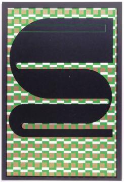 Eduardo Paolozzi, beeld uit de serie 'Moonstrips Empire News. Vol I', 1967, papier. Collectie Museum Boijmans Van Beuningen.