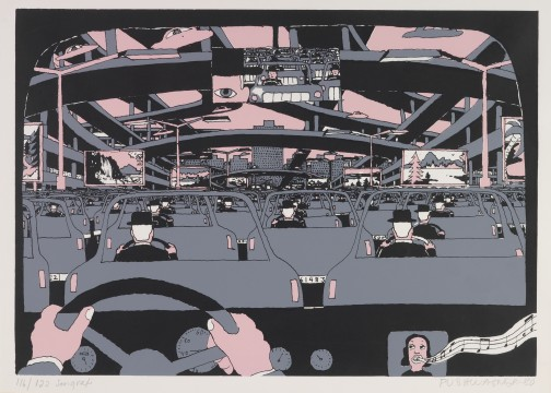 Hariton Pushwagner, Almost There, van / from: Family of Man, 1980, Image courtesy and copyright the artist