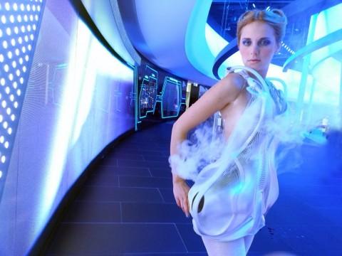 Anouk Wipprecht, titel: Interactieve Couture. Foto: Anouk Wipprecht