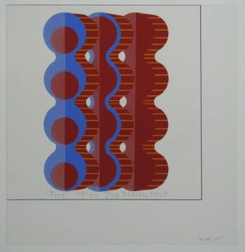 Joe Tilson, Trio (detail), 1965, Museum Boijmans Van Beuningen