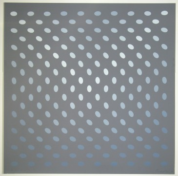 Bridget Riley, Negentien grijstinten, 1968, Museum Boijmans Van Beuningen