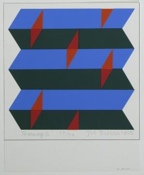 Joe Tilson, Snelweg 2 (detail), 1965, Museum Boijmans Van Beuningen