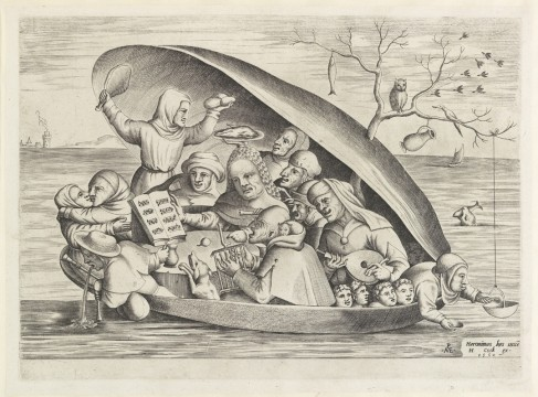 Pieter van der Heyden, Merrymakers in a Mussel Shell, 1562, Museum Boijmans Van Beuningen, Rotterdam. From the estate of Dr. J.C.J. Bierens de Haan 1951