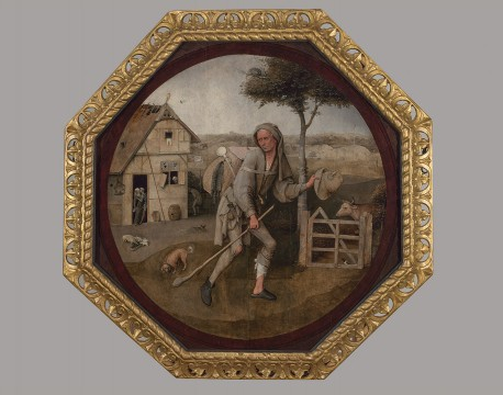 Jheronimus Bosch, The Pedlar, c1500, Museum Boijmans Van Beuningen. Acquired with the support of the Vereniging Rembrandt, D.G. van Beuningen, F.W. Koenigs and J.P. van der Schilden 1931