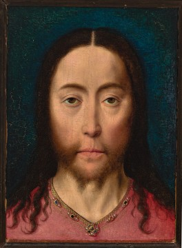 Dieric Bouts, Head of Christ, c.1470, Museum Boijmans Van Beuningen, Rotterdam. Acquired with the collection of: D.G. van Beuningen 1958
