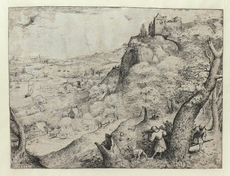 Pieter Bruegel, The Hare Hunt, 1560, Museum Boijmans Van Beuningen, Rotterdam. From the estate of Dr. J.C.J. Bierens de Haan 1951