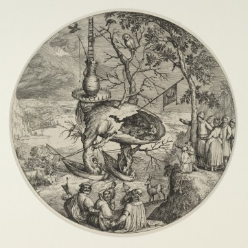 Jheronimus Bosch, The Tree-Man, c. 1590 – 1610, Museum Boijmans Van Beuningen, Rotterdam. From the estate of Dr. J.C.J. Bierens de Haan 1951