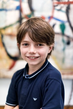 Hi! My name is Louk Tilanus and I've just turned ten. I like how creative Museum Boijmans Van Beuningen is. I'm really mad about art and I think it's important that other children have fun in museums.