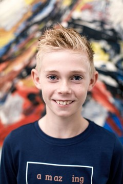 Hi! I'm Wessel Reincke and I'm ten years old. I love museums and am super happy to be a member of the Boijmans Children's Advisory Board. I assess museums for Museumkids and hope to become Museum Inspector of the Year.