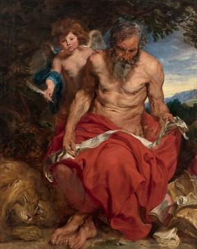 Anthonie van Dyck, Heilige Hieronymus, Museum Boijmans Van Beuningen, Rotterdam. Bruikleen: Stichting Willem van der Vorm