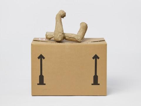 Sarah Lucas, Get Hold of This, 1994-1995, collectie Museum Boijmans Van Beuningen