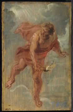Jan Cossiers, Prometheus, ca. 1636-38, oil on canvas, 182 x 113 cm. Madrid, Museo Nacianal del Prado
