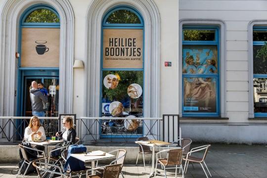 Koffiehuis Heilig Boontjes. Foto: Aad Hoogendoorn