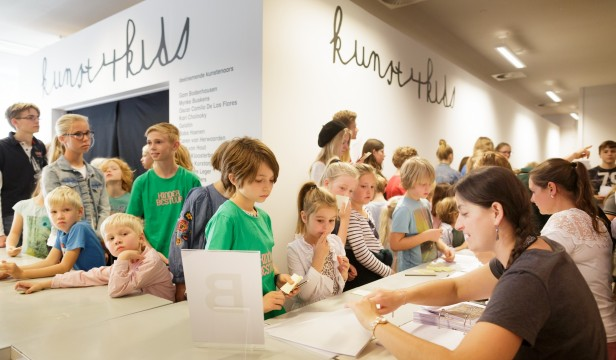 Opening Kunst4Kids 2018. Photos: Fred Ernst