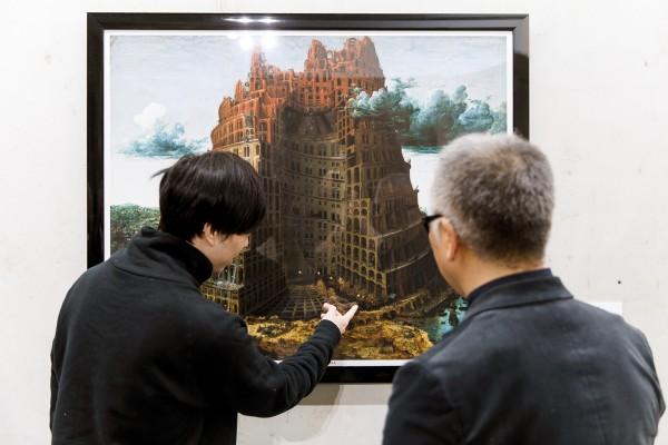 Manga kunstenaar Katsuhiro Otomo geïnspireerd door Bruegel