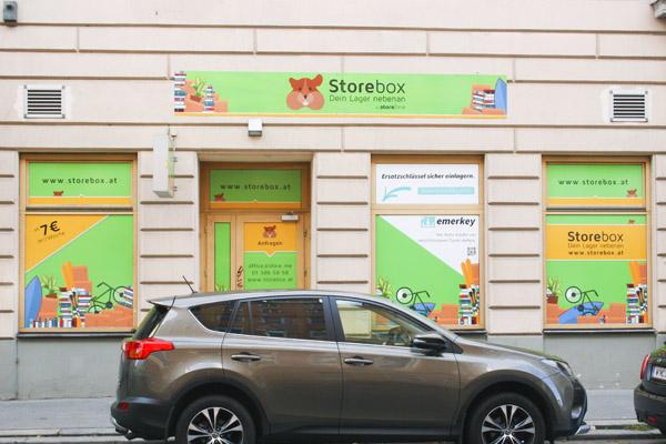 Storebox Schönbrunner Straße