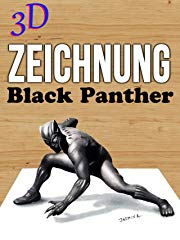 3D Zeichnung Black Panther stream