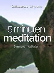 5 Minuten Meditation (five minute meditation) Stream