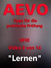 """AEVO - Tipps für die praktische Prüfung - HFIII 8/14""""Lernen"""" stream"""