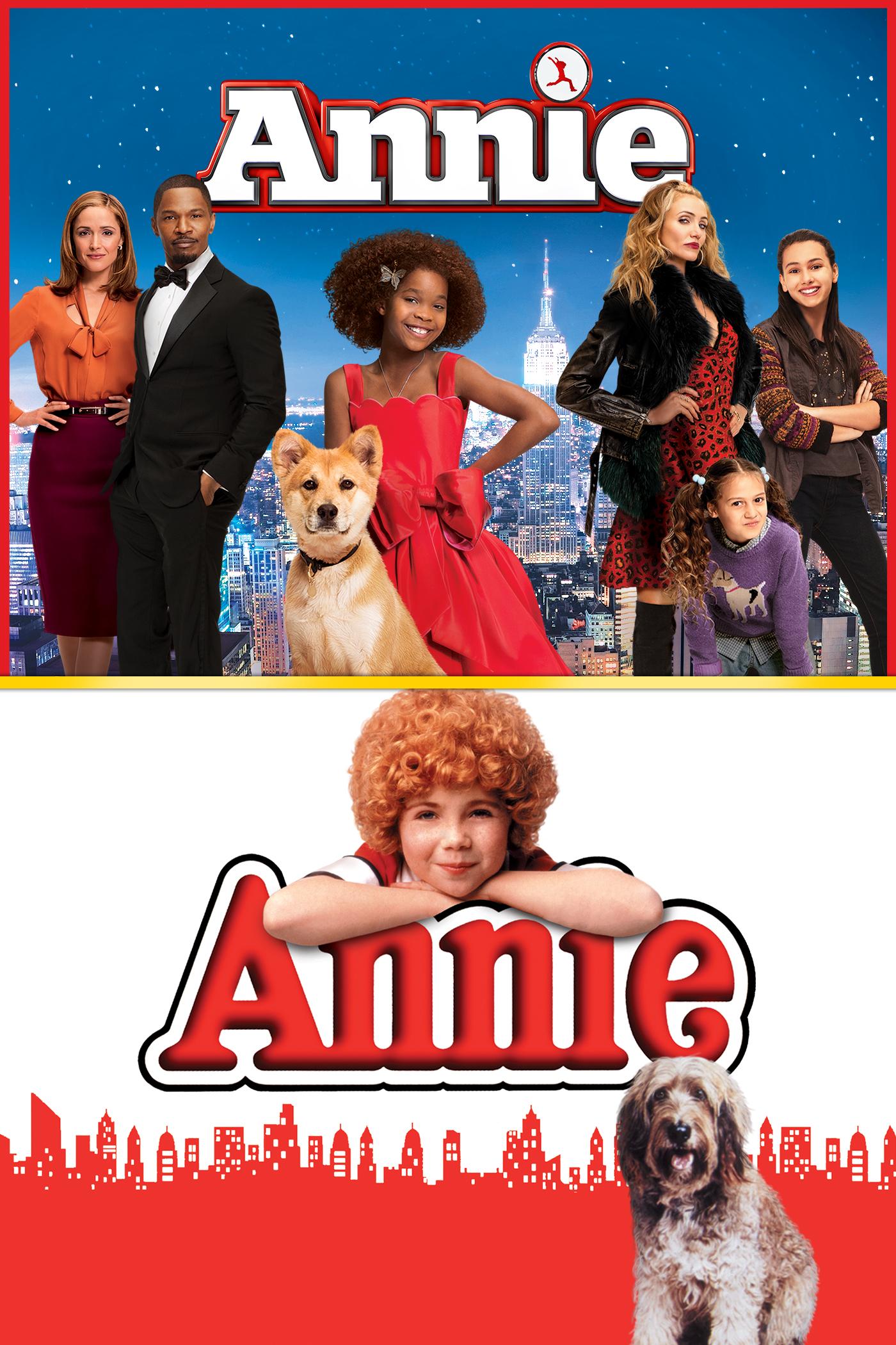 Annie (2014) / Annie (1982) stream