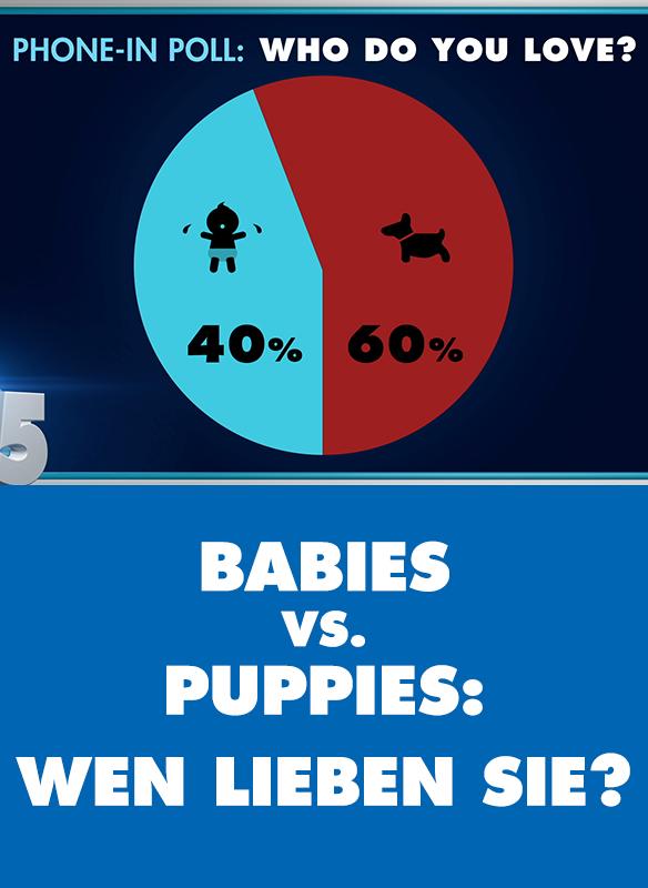 Babies Vs. Puppies: Wen Lieben Sie? stream