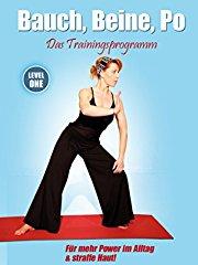 Bauch, Beine, Po - Das Trainingsprogramm - Level 1 stream