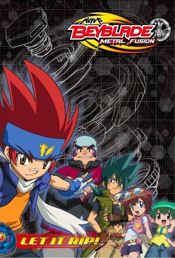 Beyblade Metal Fusion stream