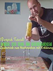 Bier zu Eis in Sekunden - Zaubertrick zum Nachmachen mit Erklärung (Partytrick Tutorial) Stream