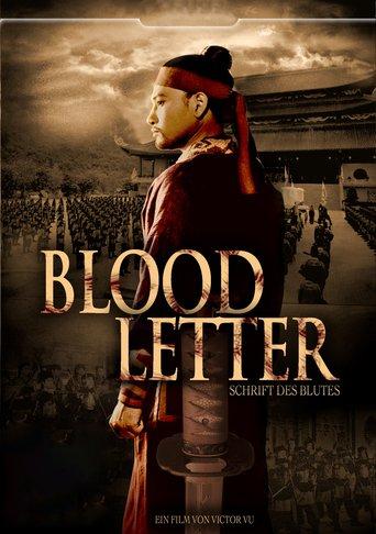 Blood Letter - Schrift des Blutes stream