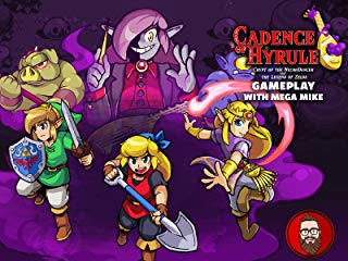 Cadence of Hyrule Crypt of the Necrodancer Feat. The Legend of Zelda Gameplay with Mega Mike Stream