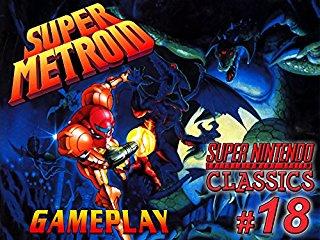 Clip: Super Metroid Gameplay (SNES Classics 18) Stream