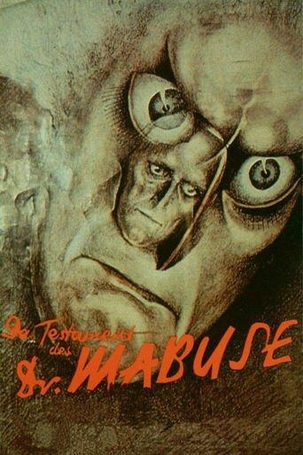 Das Testament des Dr. Mabuse stream