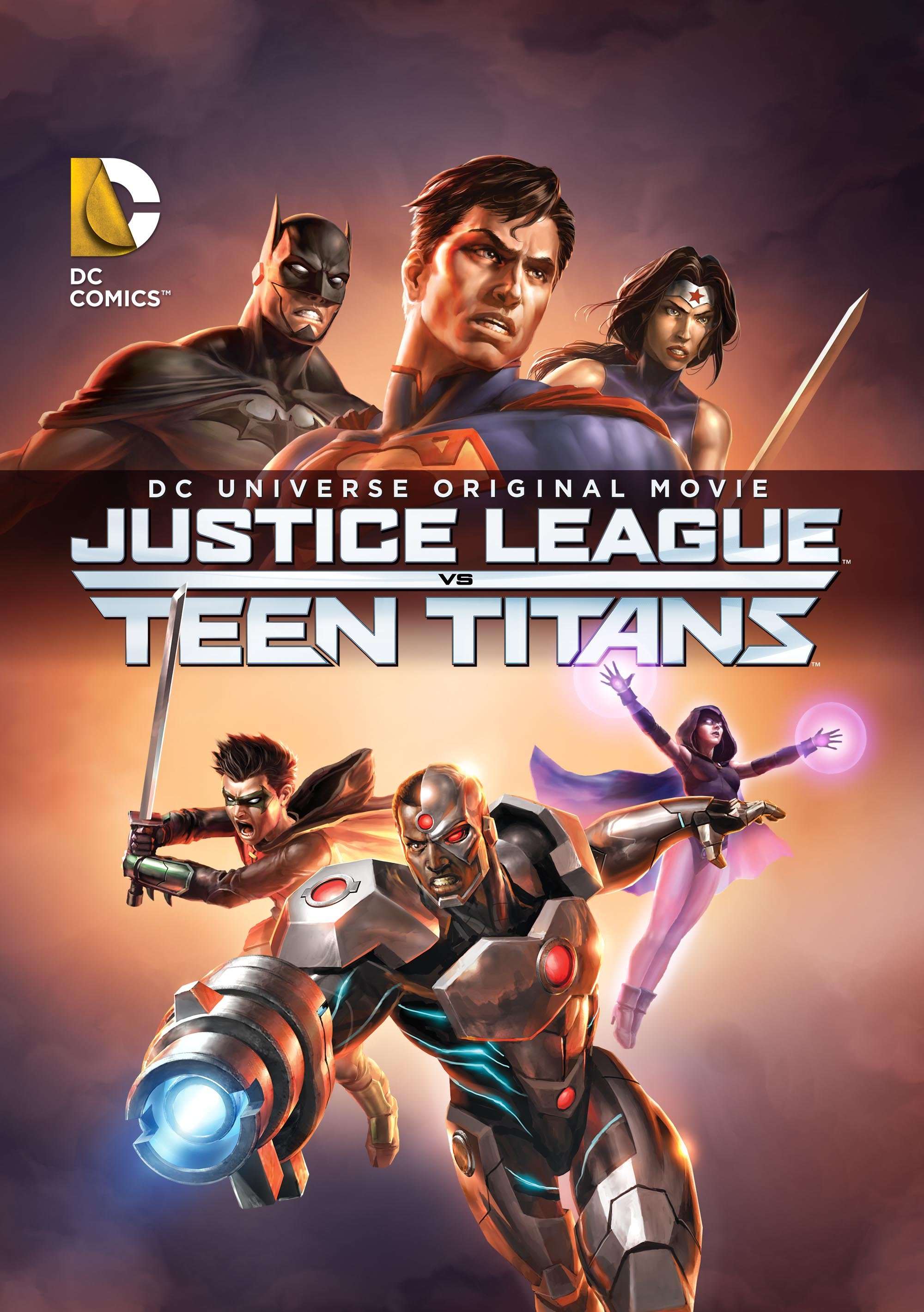 DCU: Justice League vs Teen Titans stream