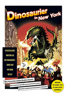 Dinosaurier in New York stream