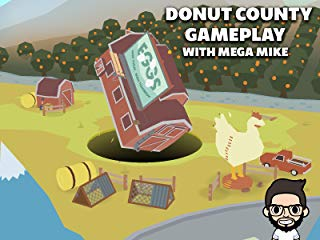 Donut County Gameplay With Mega Mike stream