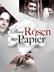 Drei Rosen aus Papier stream