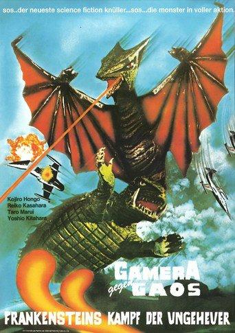 Gamera gegen Gaos - Frankensteins Kampf der Ungeheuer stream