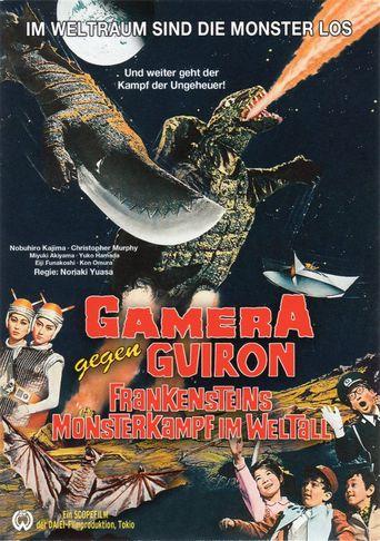 Gamera gegen Guiron - Frankensteins Monsterkampf im Weltall stream