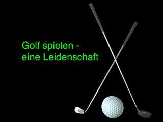 Golfspielen stream