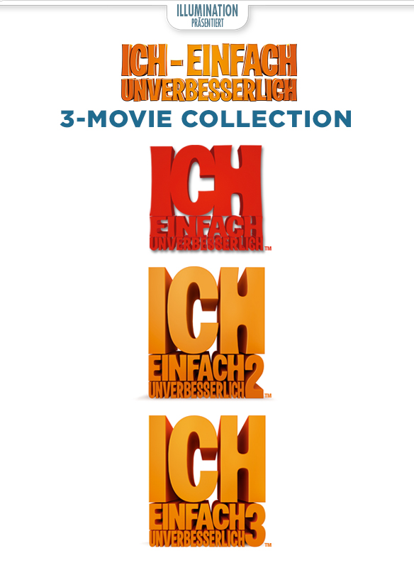 Ich – Einfach Unverbesserlich: 3-Movie Collection - stream