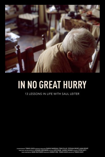 In No Great Hurry - stream