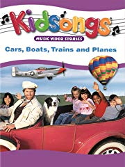 Kidsongs: Cars, Boats, Trains and Planes Stream