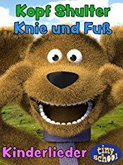 Kopf Schulter Knie und Fuß - Kinderlieder - tinyschool stream