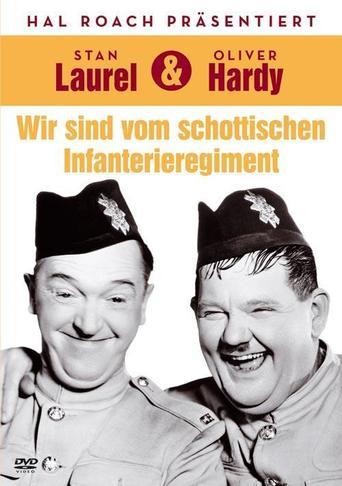 Laurel & Hardy - Wir sind vom schottischen Infanterieregiment - stream